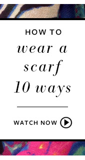 How to wear a scarf 10 ways