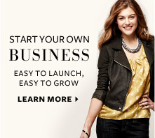 Start a Business - Run your own fashion business. Sign up by October 31 and receive $450 in free accessories. Learn More.
