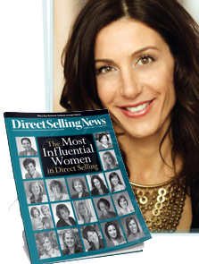 Jessica Herrin as one of 'The Most Influential Women in Direct Selling