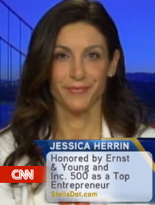 "Jessica Herrin featured on CNN - ""Work in the office or quit."""