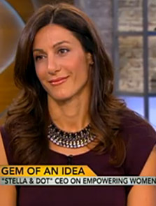 CBS This Morning  Jessica Herrin spoke about the growth and direction of Stella & Dot