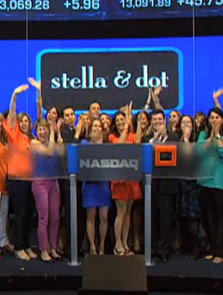 Stella & Dot Rings Closing NASDAQ Bell