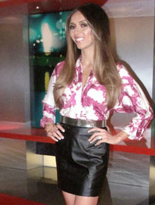 News Host Giuliana Rancic wearing the Renegade Cluster Bracelet
