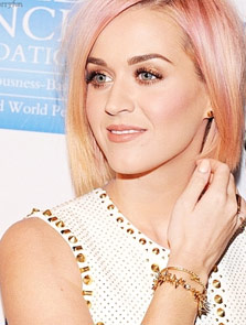 Katy Perry wearing the Renegade Cluster Bracelet