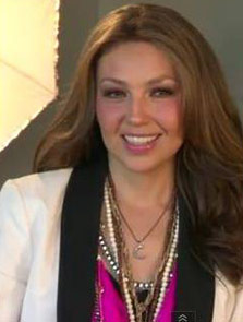 Thalia wearing the Panther Pendant, Adrienne Necklace, Hematite Link chain, Revival Tassel Necklace